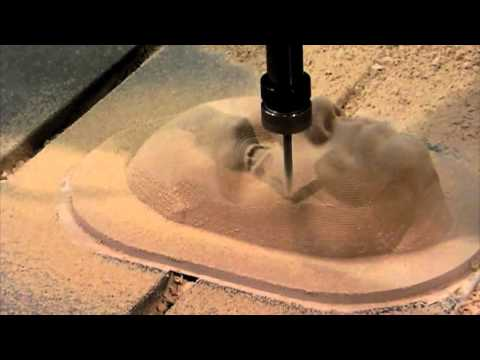 CNC machining The human face