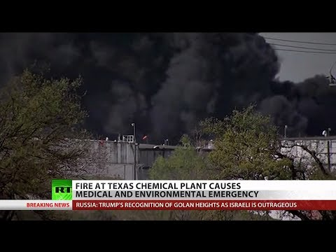 Houston chemical plant fire sends 1,000+ to hospitals