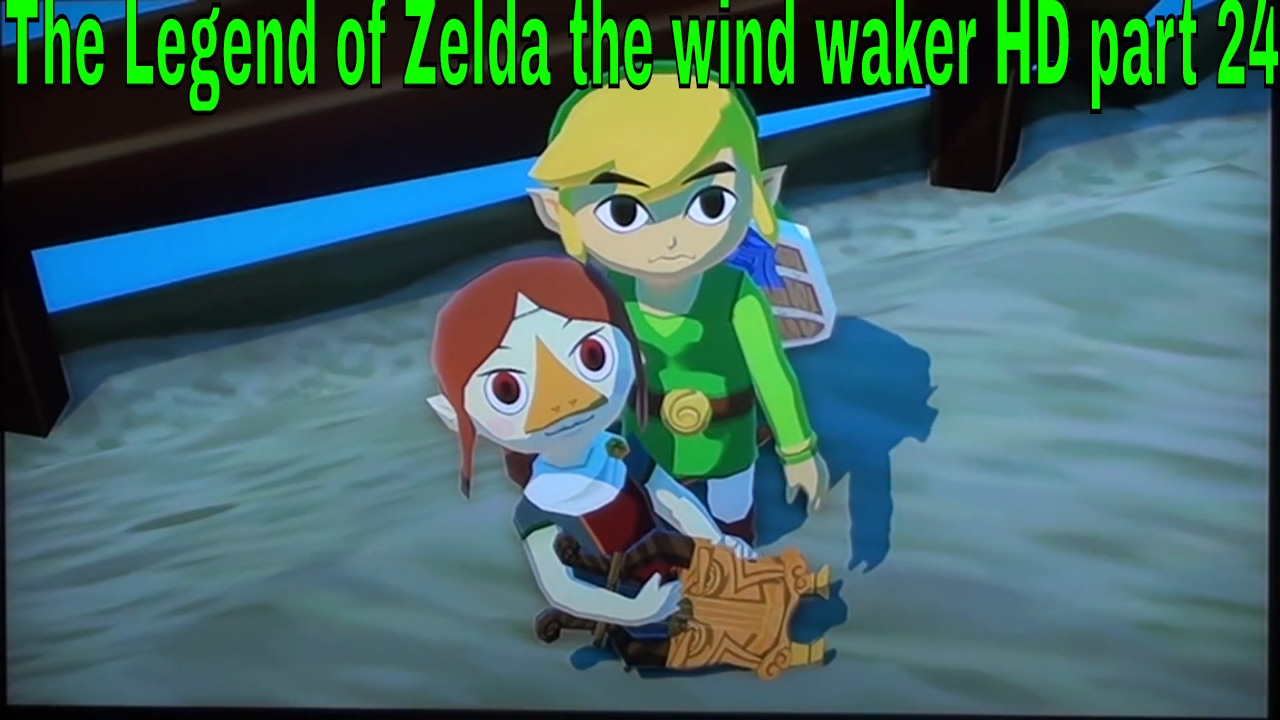 Legend of zelda wind waker hd part 24