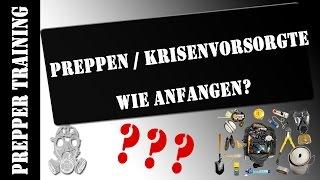 Preppen - Wie anfangen? | Krisenvorsorge | German HD 1080p