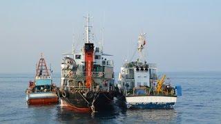 Cảnh sát biển bắt giữ tàu chở hơn 600 ngàn lít dầu trái phép
