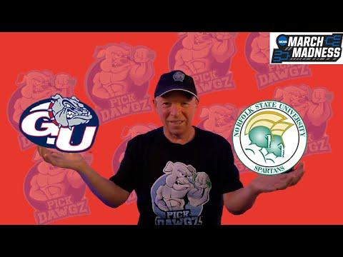Gonzaga vs Norfolk State 3/20/21 Free College Basketball Pick and Prediction NCAA Tournament