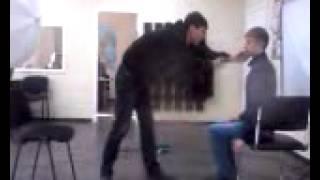 Видео о том, как Бодя чуть более минуты снимает Иосифа на обучении в