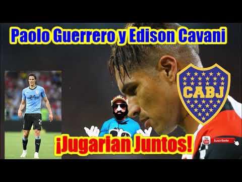 🔴 ¡SUPER EXCLUSIVA! ⚽ Guerrero y Cavani ¡JUGARÍAN JUNTOS! ⚽ Dupla de ¡ORO!
