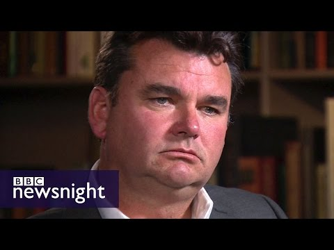 Exclusive interview with former owner of BHS Dominic Chappell - BBC Newsnight