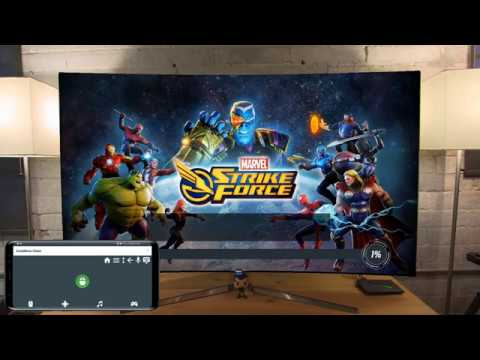 MARVEL Strike Force on Shield Android TV