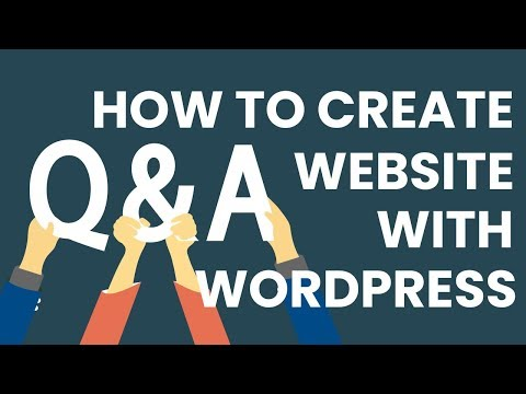 How To Create And Add A Questions And Answers Website With WordPress!
