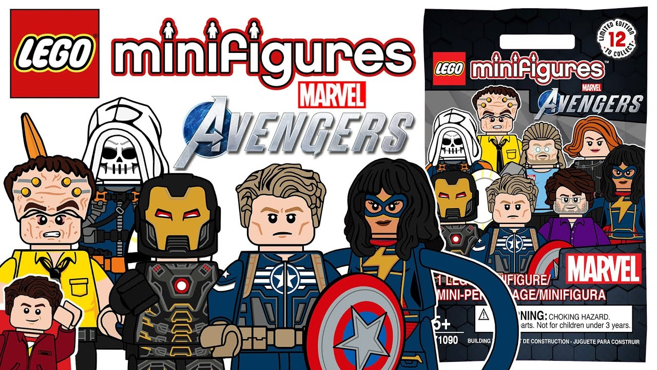 LEGO Marvel's Avengers Video Game CMF Series