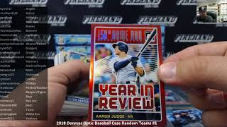 7/18/2018 2018 Donruss Optic Baseball Case Random Teams #1