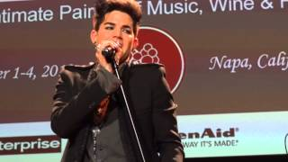 Adam Lambert - Broken English - Live In The Vineyard - 11/3/12