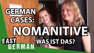 German Cases: Nominative. - Was ist das? Der. Die. Das.