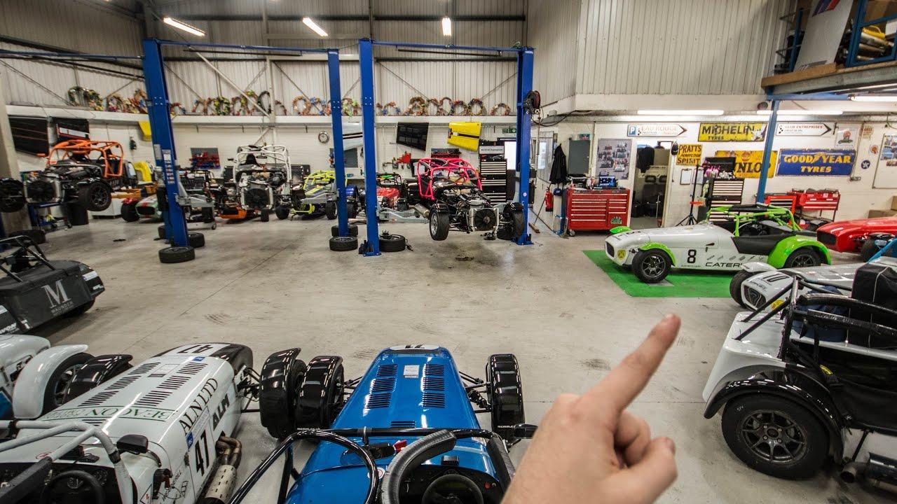 Professional Race Car Setup - YouTube