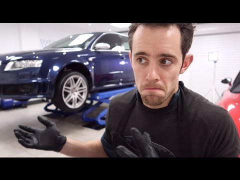 Audi RS4 15 minute makeover + 5 minute Q&A - VLOG 008