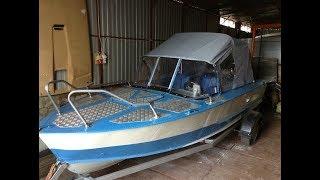 Ремонт заплатка(как сделать) на лодку прогресс 2, днепр, обь, казанка, крым своими руками