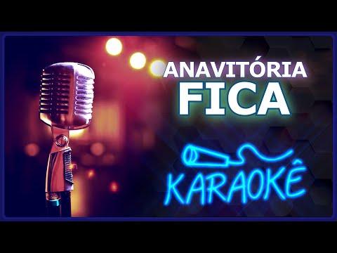 🎤 KARAOKÊ - Fica - Antória feat. Matheus e Kauan