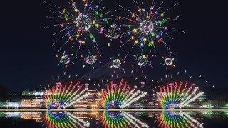 FWsim Mount Fuji Synchronized Fireworks Show3 thumbnail