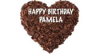 Pamela  Chocolate - Happy Birthday