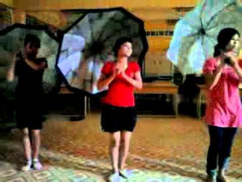 múa : Tuổi mùa xuân - lớp 08 CNAN - Khoa GDMN
