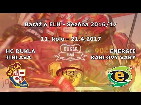 11. baráž (21.4.2017) HC Dukla Jihlava - Energie Karlovy Vary