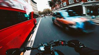 [UNCUT] City Ride. | YAMAHA MT-07 AKRAPOVIC + QUICKSHIFTER [4K]
