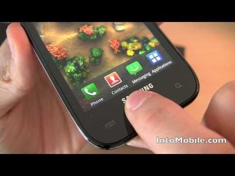 Verizon Samsung Fascinate Galaxy S Hands-on Unboxing And Hardware Tour