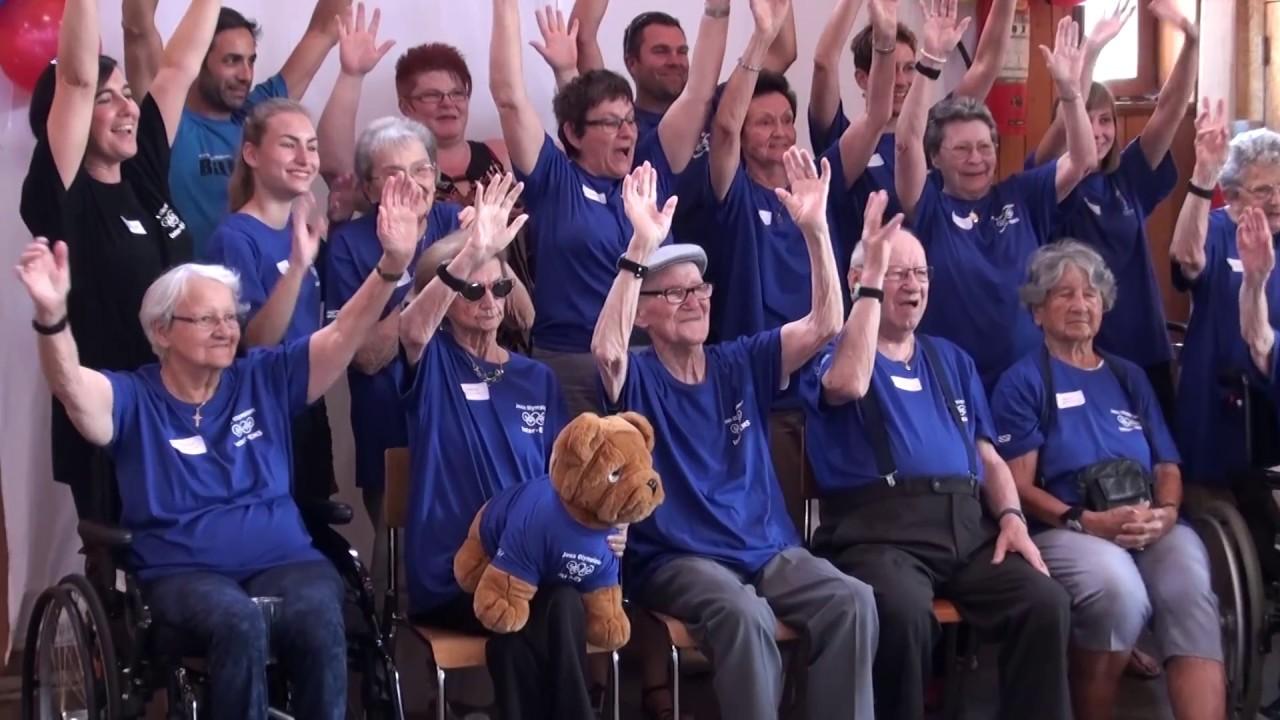 Premiers Jeux Olympiques des aînés à Bassecourt dans le Jura