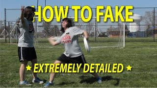 Ultimate Frisbee Skills: How to Fake Tutorial