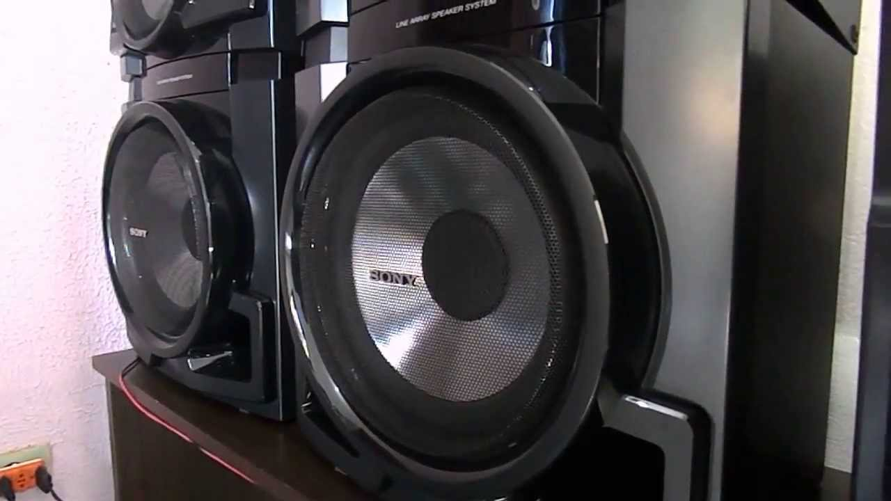 Mini System Sony MHCGTR88 Full Power ( Gosto de Curtir um