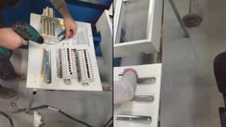 видео Сборка и монтаж электрощитов  в Москве