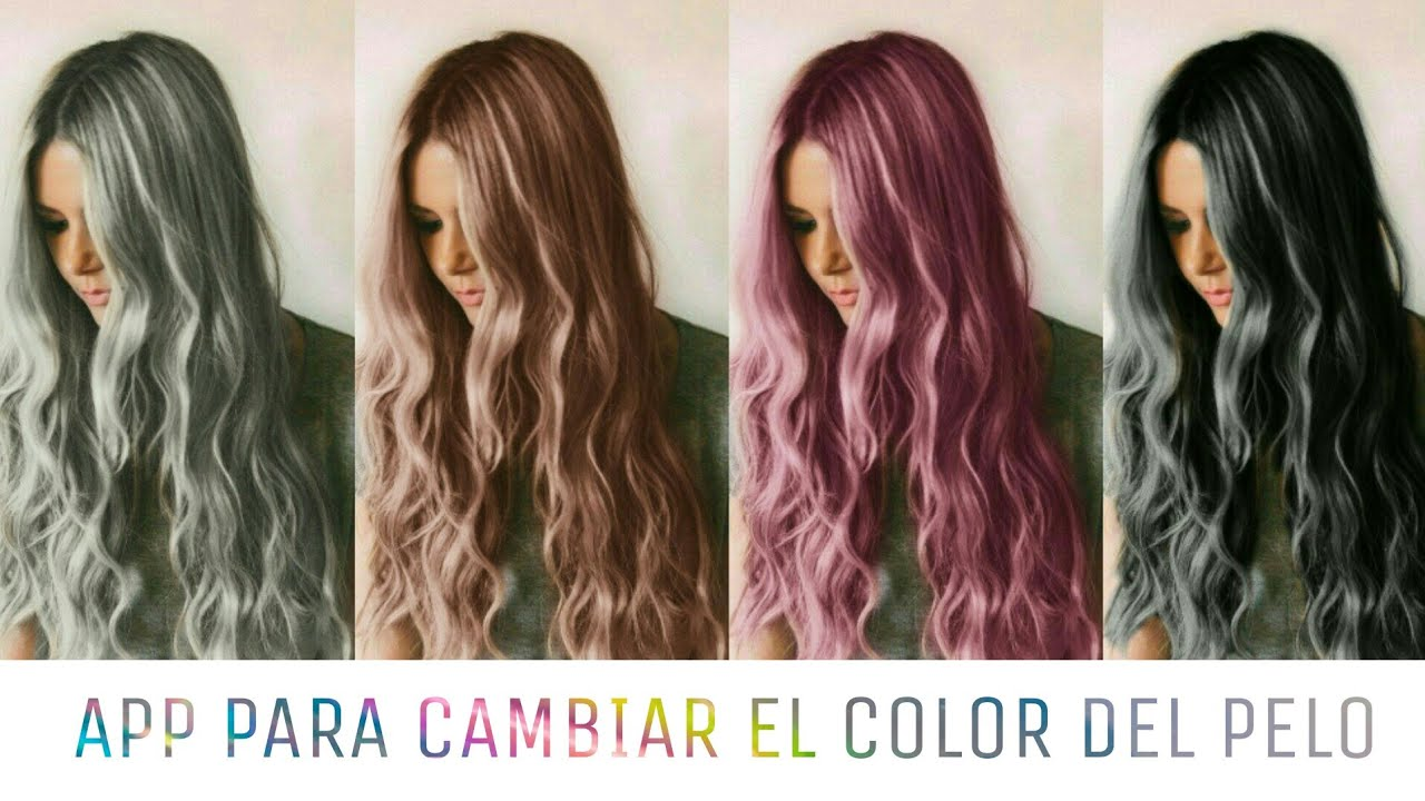 Cambiar color de cabello online gratis