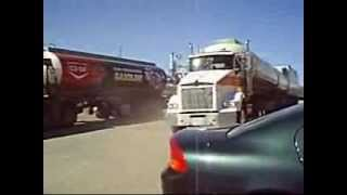 Roadtrain, Canadian Road Train, Triple Trailer,