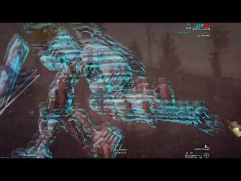 Warframe Void Dashing Eidolons (Solo Trinity tricap, 13:20 cap, 13:40 extraction)