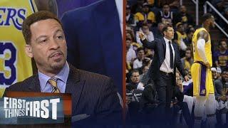 Chris Broussard: Luke Walton never stood a chance as Lakers HC | NBA | FIRST THINGS FIRST