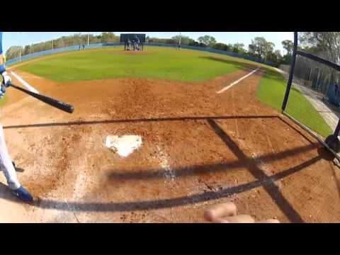 GoPro footage from a catchers view [RAW VIDEO]