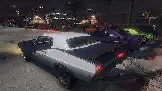 Livestream - GTA 5 - MUSCLE CAR MEET and Racing Playlist PS4