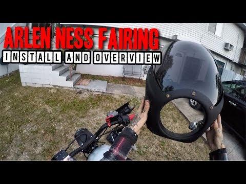 Arlen Ness Fairing Install and Overview
