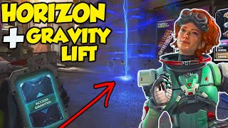 Apex Legends A Wee Experiment - Horizon & Gravity Lifts REVEALED