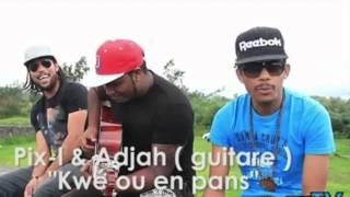 Pix'l/Adjah Santana kwé ou en penss guitare version
