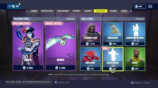 🔴Fortnite Battle Royale - Live Item Shop - 3rd November - NEW CRISS CROSS🔴