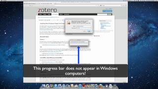 Installing Zotero's MS Word Plugin