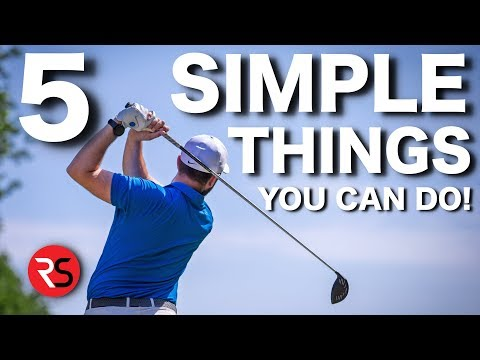 5 SIMPLE THINGS ALL GOOD GOLFERS DO (That YOU can copy)