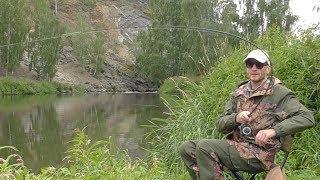 В ЭТОЙ РЕЧКЕ КЛЮЁТ БЕЗ КРЮЧКА И НАЖИВКИ!!! Рыбалка на фидер в реке!