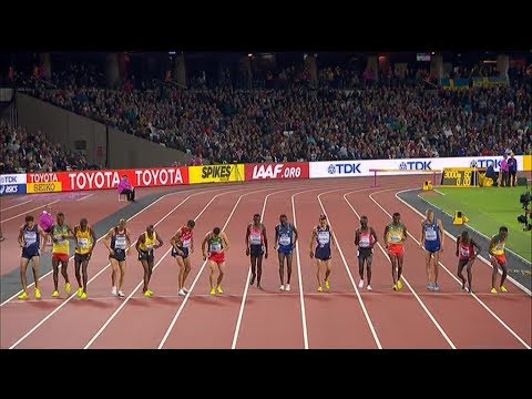 Finale 3000 mètres steeple Londres 2017