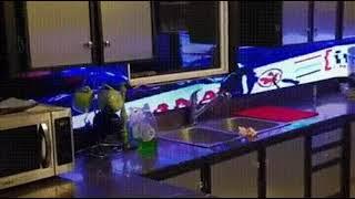 주방 LED 인테리어
