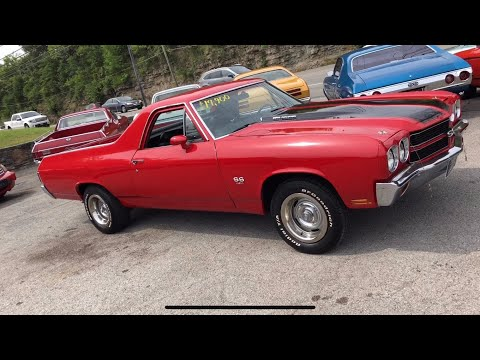 1970 ElCamino Big Block $17,900 Maple Motors