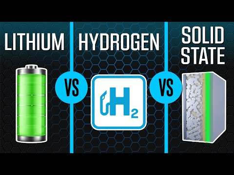 Lithium VS Hydrogen VS Solid State | EV Battery Technologies Explained