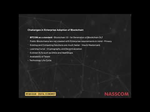 NASSCOM Product Connect Virtual Panel Discussion : Challenges in Enterprise Adoption of Blockchain