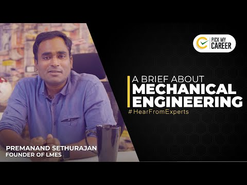 A brief about Mechanical Engineering | Tamil | PickMyCareer