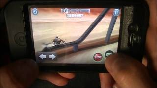 Bike Baron Easy, Level 12, Rollercoaster, Pick up all 9 coins!