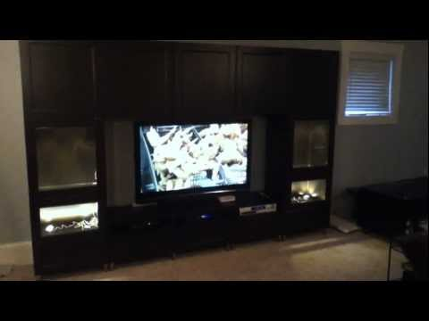 Ikea Besta Large Entertainment Center Project And Assembly